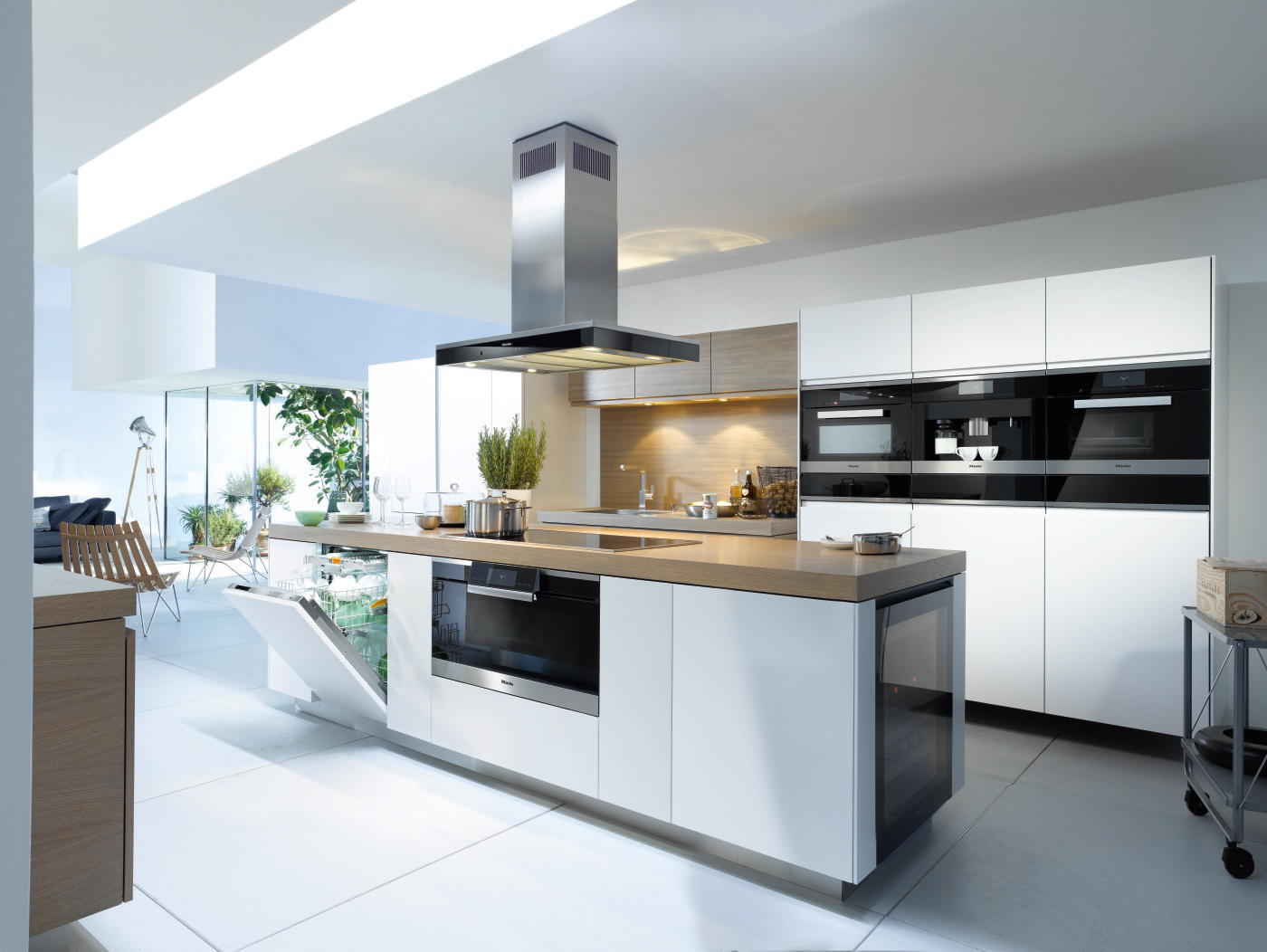 Miele steam oven combination miele kitchen appliances for Miele küchen