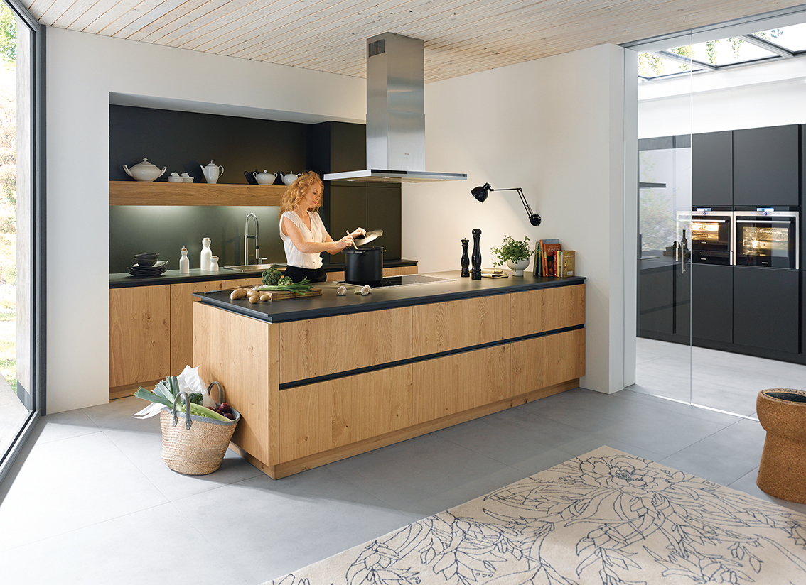 Contemporary Grey Kitchen Part 38