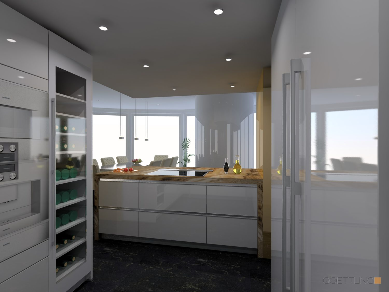 How to renovate your kitchen to add value for Kitchen designs dubai